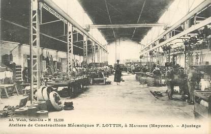 """CPA FRANCE 53 """"Mayenne, Ateliers de constructions mécaniques F. Lottin"""""""