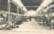 """53 Mayenne CPA FRANCE 53 """"Mayenne, Ateliers de constructions mécaniques F. Lottin"""""""