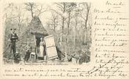 """52 Haute Marne CPA FRANCE 52 """"Arc en Barrois, une hutte de charbonniers"""""""