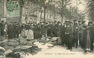 """45 Loiret CPA FRANCE 45 """"Orléans, le marché  aux Puces"""""""