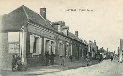 """CPA FRANCE 60 """"Ravenel, Maison Lemaire"""""""