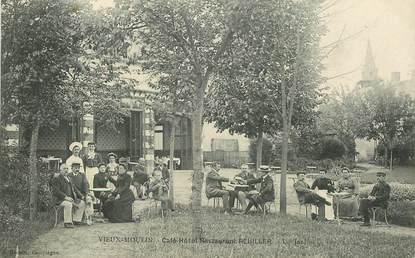 "CPA FRANCE 60 ""Vieux Moulin, Café hotel Restaurant Reuiller"""