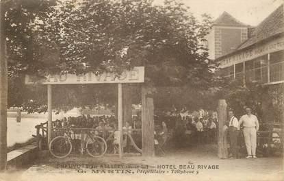 "CPA FRANCE 71 ""Chauvort par Allerey, Hotel Beau Rivage, Pr. G. MARTIN"""