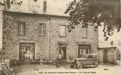 """CPA FRANCE 87 """"Saint Sornin Leulac, un coin du Bourg"""""""