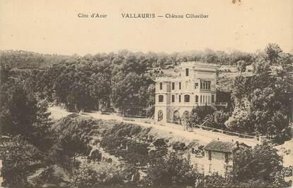 """/ CPA FRANCE 06 """"Vallauris, château Cilharibar"""""""