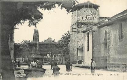 """/ CPA FRANCE FRANCE 09 """"Lavelanet, place de l'église"""""""