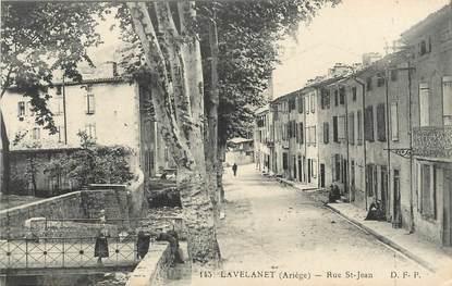 "/ CPA FRANCE FRANCE 09 ""Lavelanet, rue Saint Jean"""