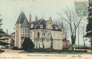 """89 Yonne CPA FRANCE 89 """"Villeneuve sur Yonne, Chateau du Champ du Guet"""""""