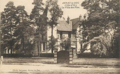 """/ CPA FRANCE 21 """"Arnay le Duc, la villa des Pins"""""""