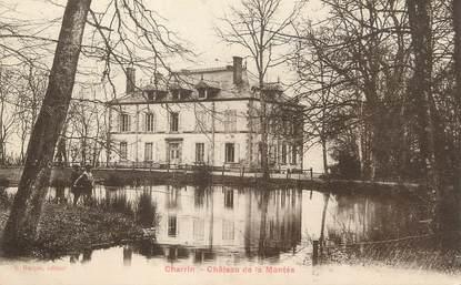 """/ CPA FRANCE 58 """"Charrin, château de la montée"""""""