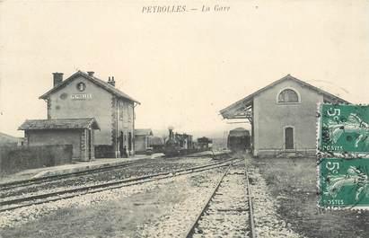 "CPA FRANCE 13 ""Peyrolles, la gare"" / TRAIN"