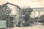 """13 Bouch Du Rhone CPA FRANCE 13 """"Roquefavour, le café blanc"""""""