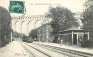 """13 Bouch Du Rhone CPA FRANCE 13 """"Roquefavour, la gare"""" / TRAIN"""