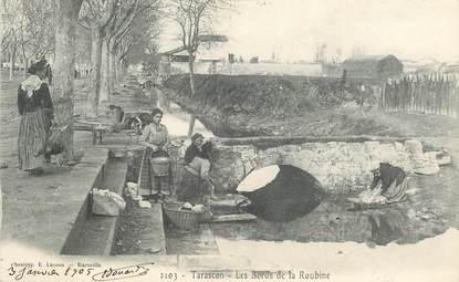 "CPA FRANCE 13 ""Tarascon, les bords de la Roubine"""