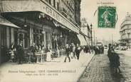 """13 Bouch Du Rhone CPA FRANCE 13 """"Marseille, Grand café du commerce"""""""