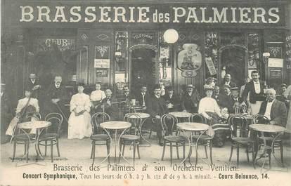 """CPA FRANCE 13 """"Marseille, la Brasserie des Palmiers et son orchestre vénitien"""""""