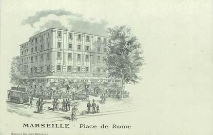 """CPA FRANCE 13 """"Marseille, Place de Rome"""""""