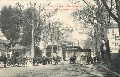 "/ CPA FRANCE 06 ""Nice, l'avenue Malausséna"""