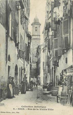 """/ CPA FRANCE 06 """"Nice, rue de la vieille ville """""""