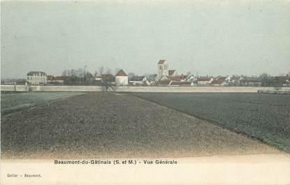 """CPA FRANCE 77 """"Beaumont du Gâtinais, vue générale"""""""