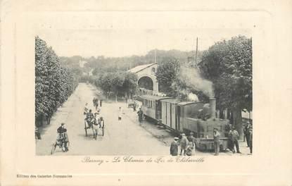 """CPA FRANCE 27 """"Bernay, le chemin de fer de Thiberville"""" / TRAIN"""