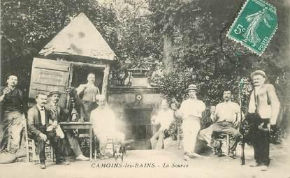"""CPA FRANCE 13 """"Camoins les Bains, la Source"""" /   BANLIEUE DE MARSEILLE"""