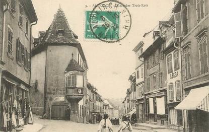"""/ CPA FRANCE 68 """"Altkirch, place des trois rois"""""""