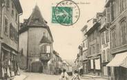 """68 Haut Rhin / CPA FRANCE 68 """"Altkirch, place des trois rois"""""""