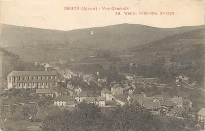 """/ CPA FRANCE 68 """"Orbey, vue générale"""""""