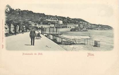 """/ CPA FRANCE 06 """" Nice, promenade du midi """""""