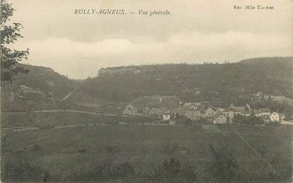 "/ CPA FRANCE 71 ""Rully Agneux, vue générale"""