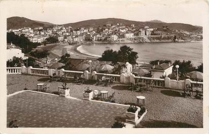 "/ CPA FRANCE 66 ""Banyuls sur Mer, vue prise de la terrasse de Miramar """