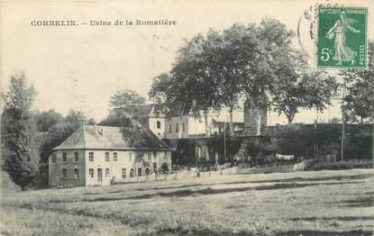 "/ CPA FRANCE 38 ""Corbelin, usine de la Romatière"""