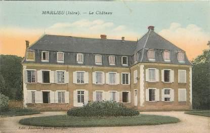 """/ CPA FRANCE 38 """"Marlieu, le château"""""""