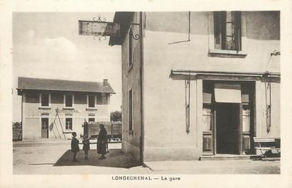 """/ CPA FRANCE 38 """"Longechenal, la gare"""""""