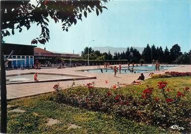 """/ CPSM FRANCE 38 """"Rives sur Fure, la piscine'"""