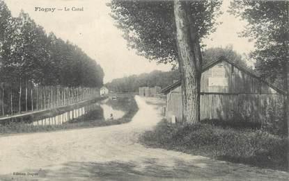 """/ CPA FRANCE 89 """"Flogny, le canal"""""""