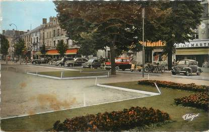"""/ CPSM FRANCE 86 """"Chatellerault, bld Blossac"""""""
