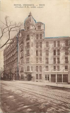 """/ CPA FRANCE 06 """"Nice, Hôtel Choiseul"""""""