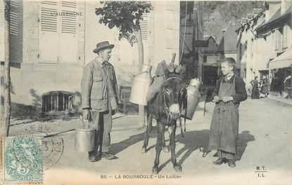 """/ CPA FRANCE 63 """"La Bourboule, un laitier"""""""