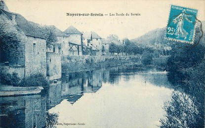 "CPA FRANCE 89 ""Noyers sur Serein, les bords du Serein"""