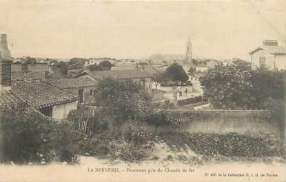 "/ CPA FRANCE 44 ""La Bernerie, panorama pris du chemin de fer"""