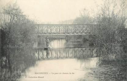 """/ CPA FRANCE 44 """"Machecoul, le pont du chemin de fer"""""""