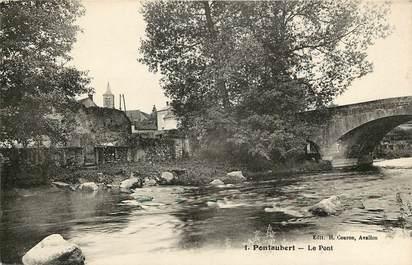 "CPA FRANCE 89 ""Pontaubert, le pont"""