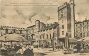 """84 Vaucluse / CPA FRANCE 84 """"Avignon, la place et bâtiments Saint Jean au XVIIIè siècle"""""""