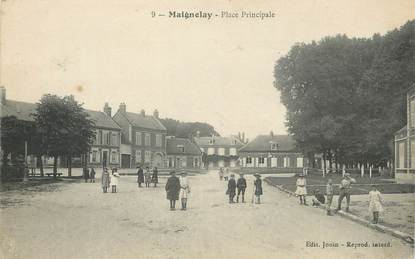 "/ CPA FRANCE 60 ""Maignelay, place principale"""