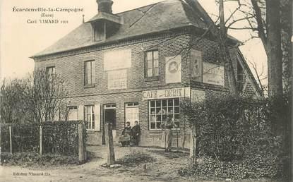 "CPA FRANCE 27 ""Ecardenville la Campagne, Café Vimard"""