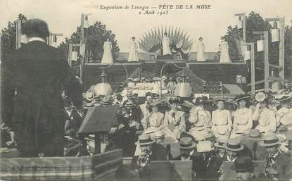 """CPA FRANCE 87 """" Limoges,  Fête de la Muse, 1903"""""""