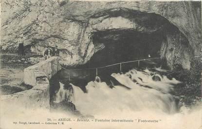 "/ CPA FRANCE 09 ""Bélesta, fontaine intermittente Fontestorbe"""
