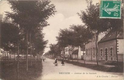 """/ CPA FRANCE 58 """"Decize, avenue de la Saulaïe"""""""